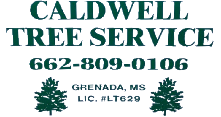 caldwell tree service image with phone number